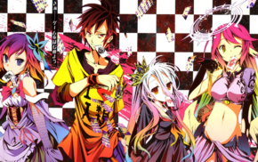 Shiro No Game No Life, No Game No Life, Jibril, Sora No Game No Life