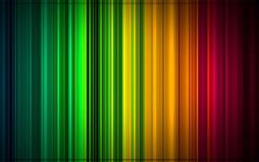 rainbows, colorful