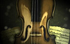 music, violin