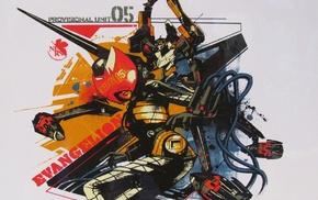 Makinami Mari Illustrious, Neon Genesis Evangelion, anime, EVA Unit 05