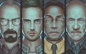 Gustavo Fring, Heisenberg, Breaking Bad, Aaron Paul, Walter White, Bryan Cranston