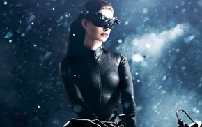 Anne Hathaway, Catwoman, brunette, actress, The Dark Knight Rises, Selina Kyle