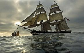 sailing ships, ship