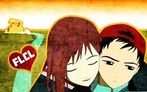 manga, FLCL, anime, Nandaba Naota, Samejima Mamimi